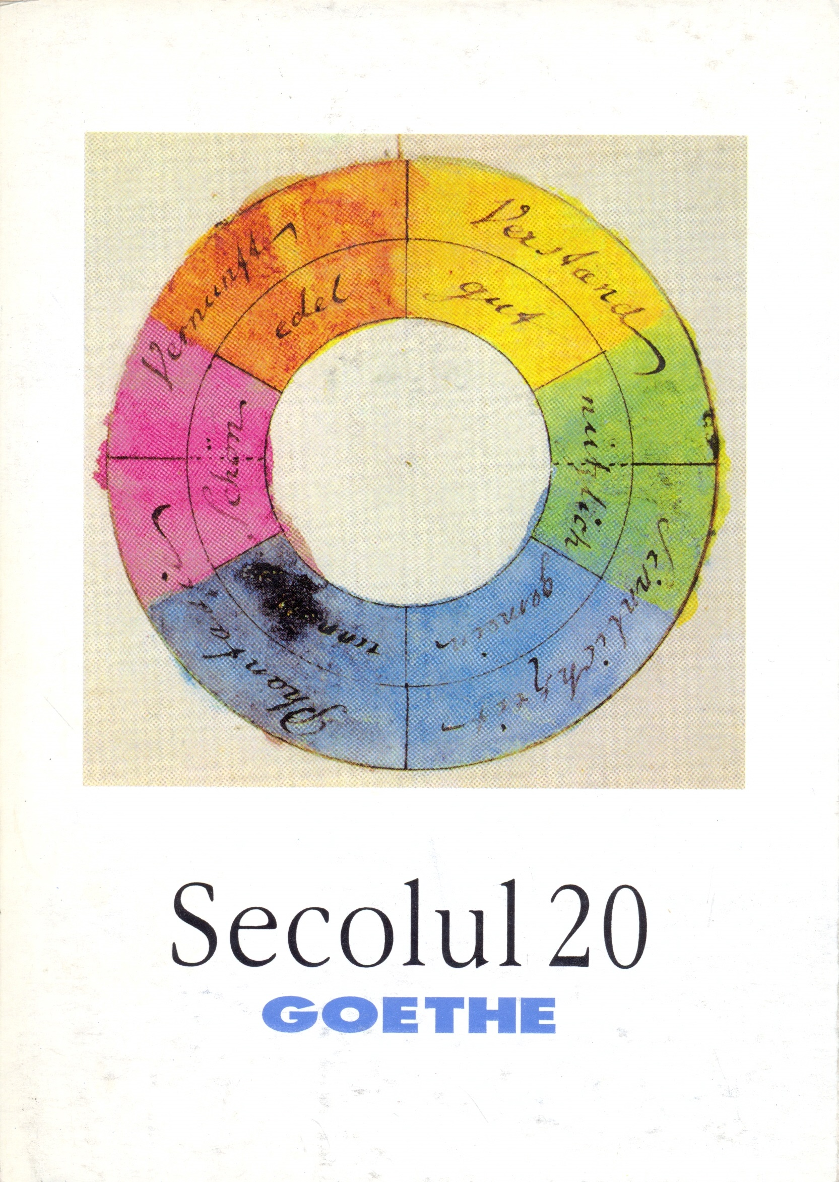Secolul 20 - Goethe
