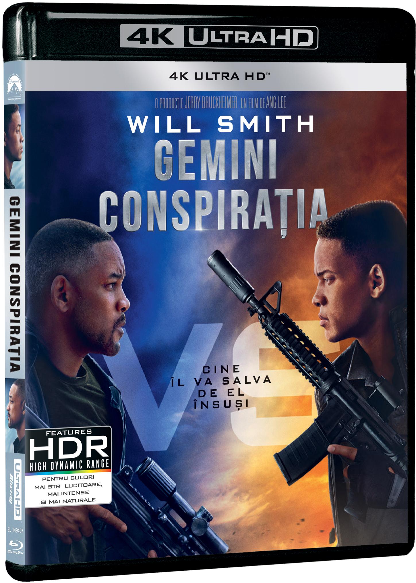 Gemini: Conspiratia / Gemini Man (4K/UHD)
