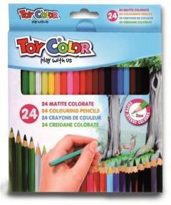 Set 24 creioane colorate