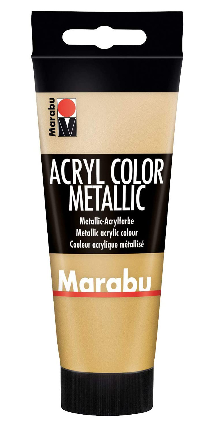 Vopsea - Marabu Acryl Color, 084 Gold, 100ml