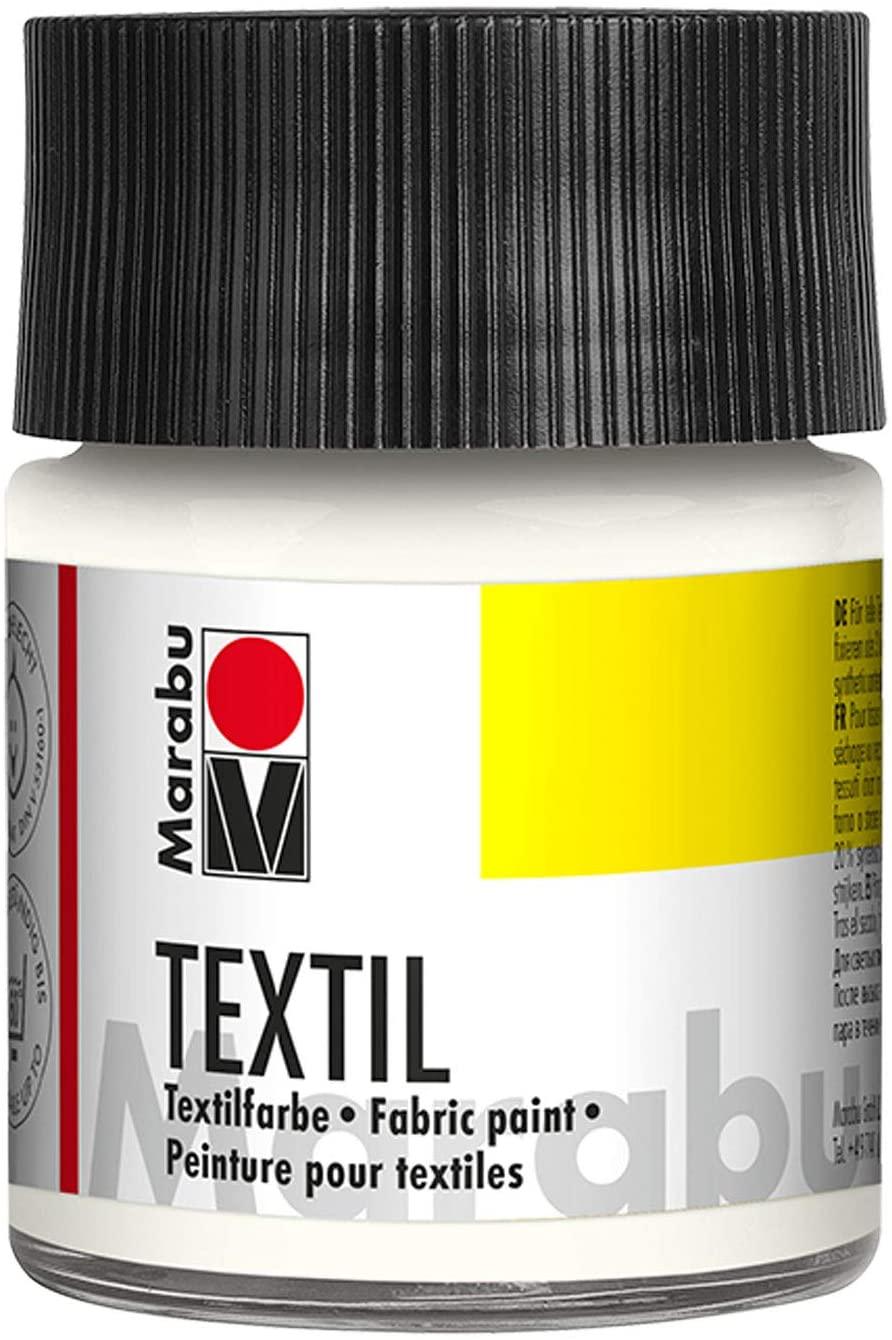 Vopsea - Textil 070 - White, 50 ml