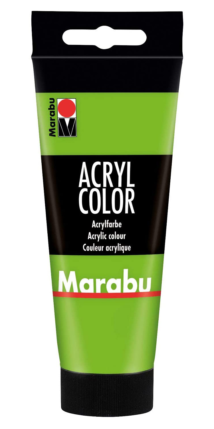 Vopsea - Marabu Acryl Color, 282 Leaf Green, 100ml