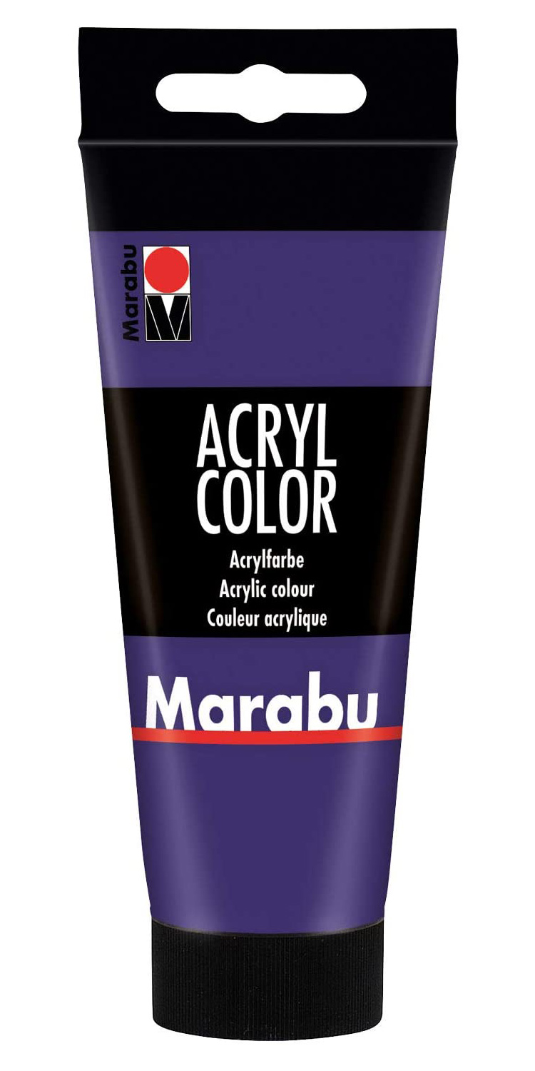 Vopsea - Marabu Acryl Color, 251 Violet, 100ml