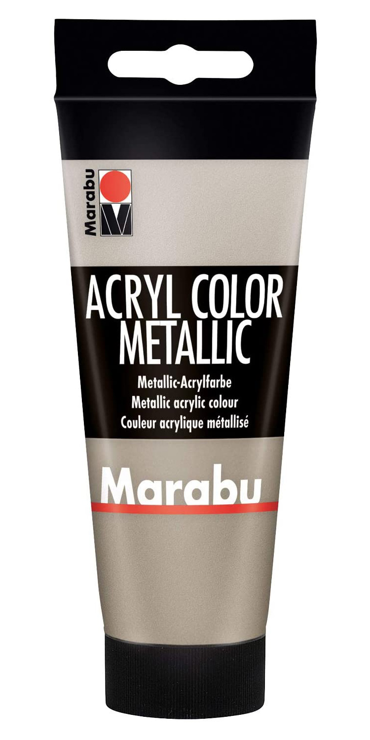 Vopsea - Marabu Acryl Metallic Color, 748 Metallic Taupe, 100ml