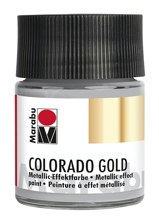 Vopsea - Marabu Colorado Gold, Paladium 795, 50ml