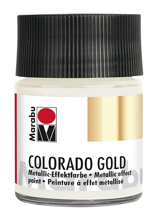 Vopsea - Marabu Colorado Gold 781, Antique Silver 50ml