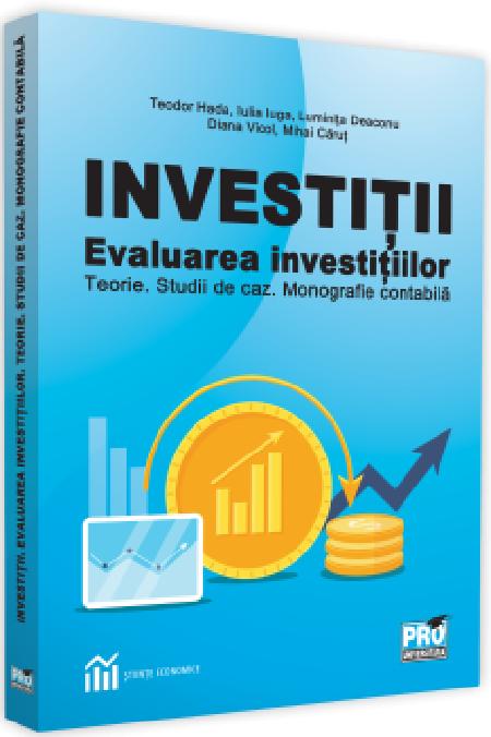 Investitii. Evaluarea investitiilor