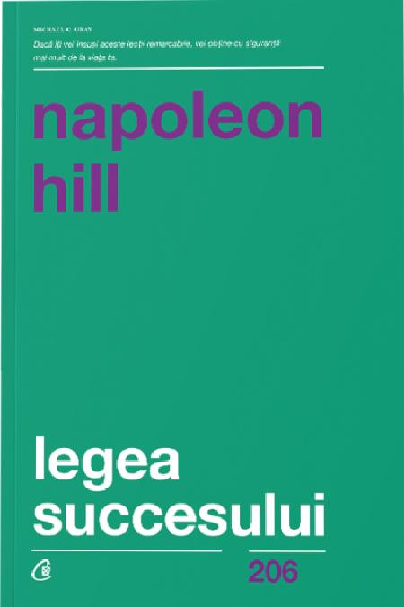 Imagine Legea Succesului - Napoleon Hill