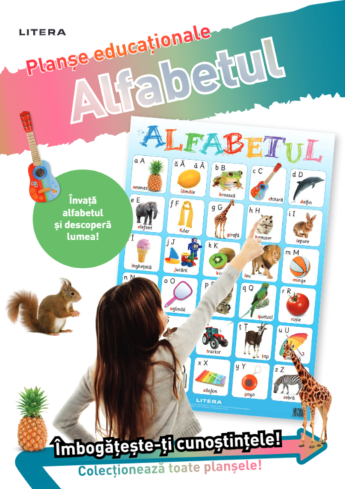 Alfabetul. Planse educationale |