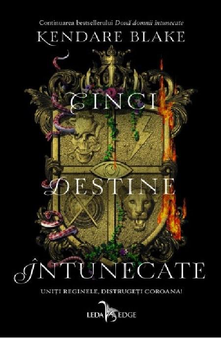 Imagine Cinci Destine Intunecate - Kendare Blake