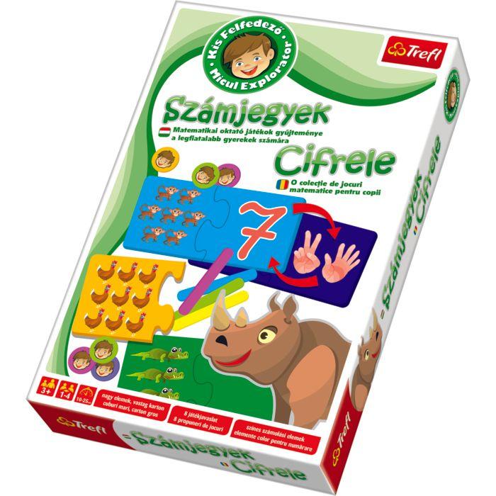 Board Game - Micul Explorator, Cifrele | Trefl