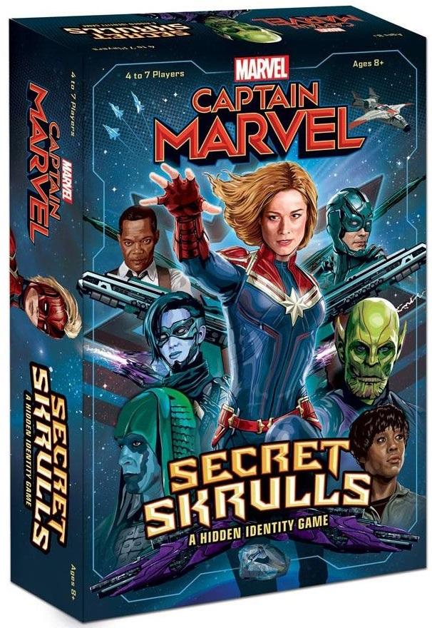 Joc - Captain Marvel: Secret Skrulls | Marvel