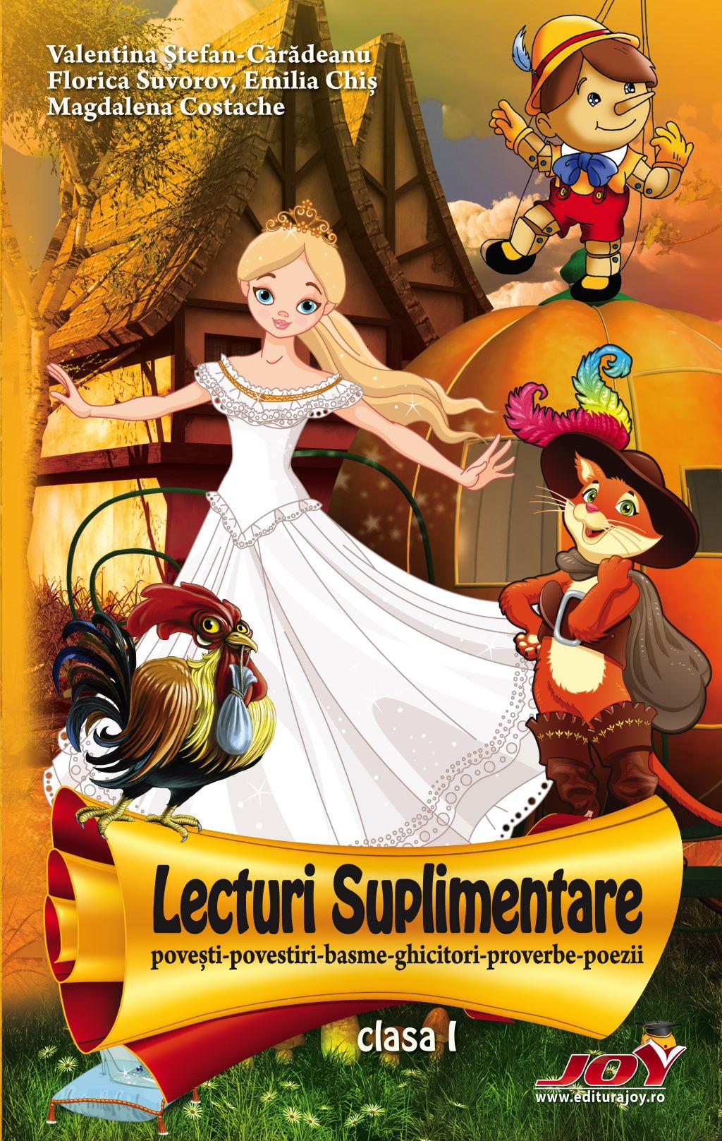Lecturi suplimentare pentru clasa I   Valentina Stefan-Caradeanu