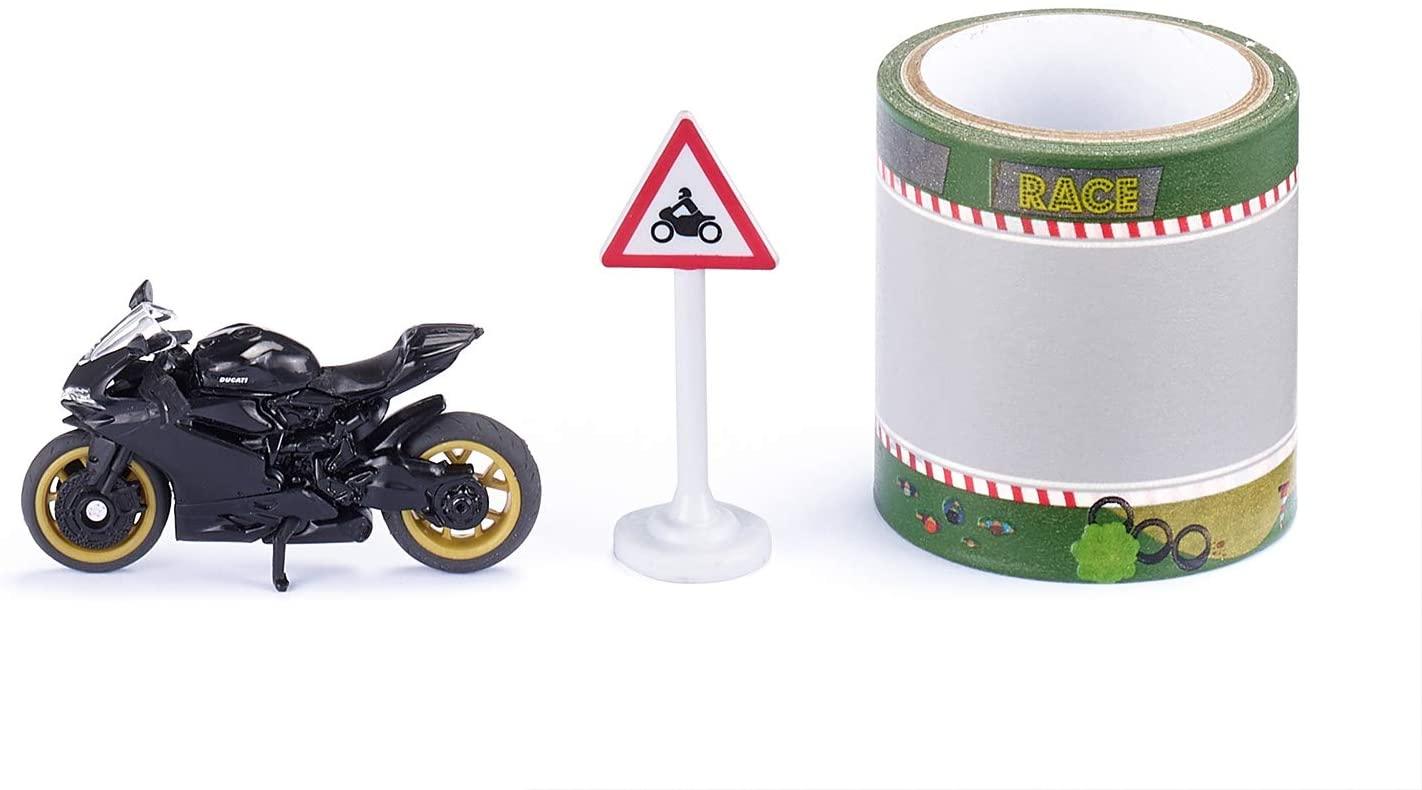 Jucarie - Super Ducati Panigale 1299 with Tape Toy Bike | Siku