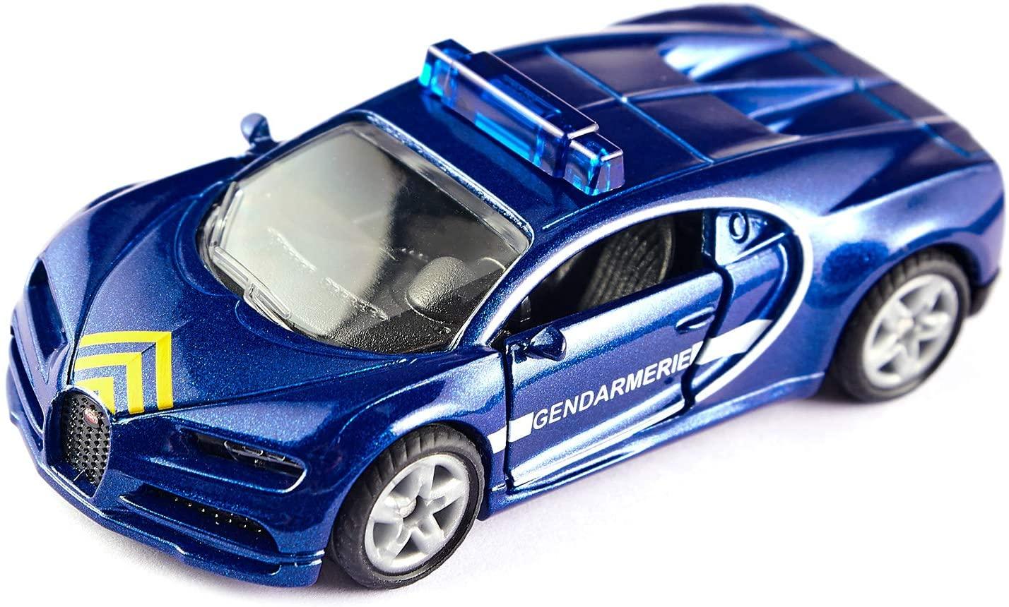 Jucarie - Bugatti Chiron Gendarmerie - Police | Siku