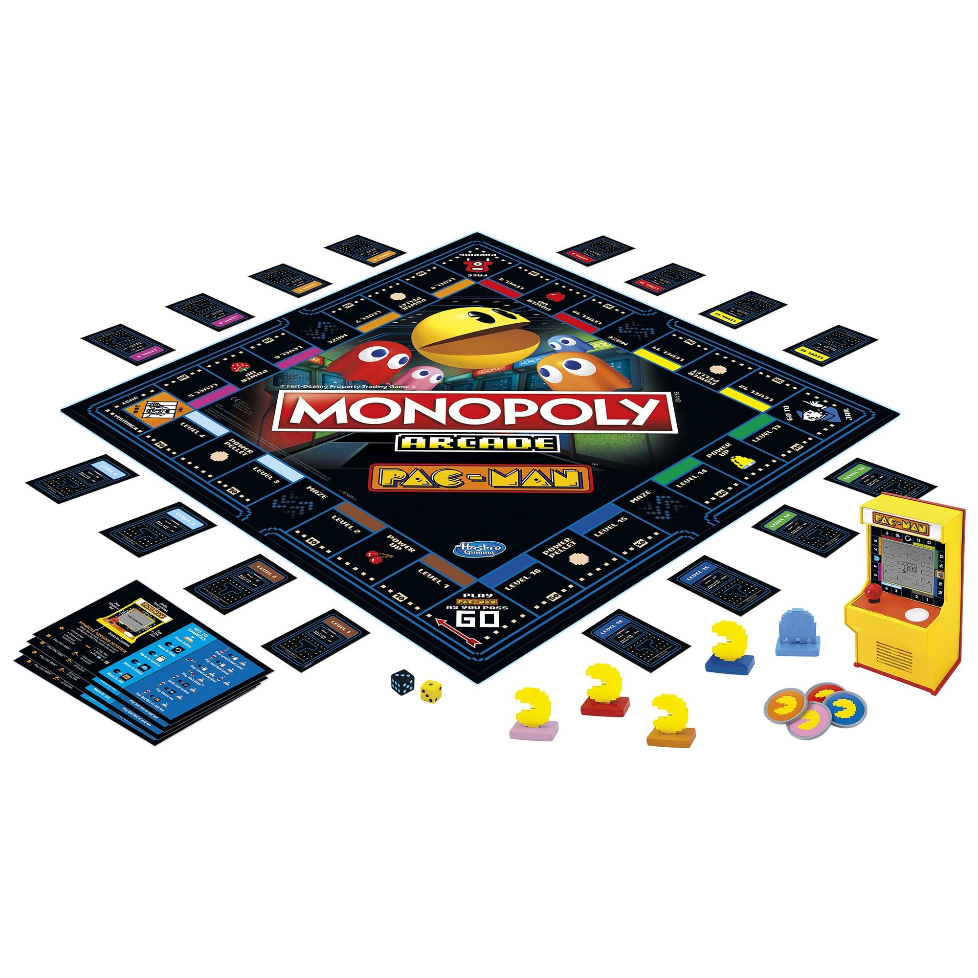 Joc - Monopoly - Arcade Pac-Man | Hasbro - 4