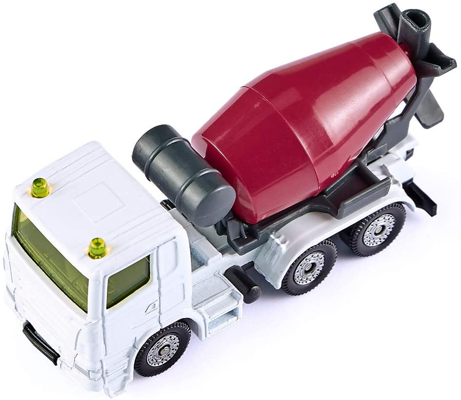 Jucarie - Dumper and Concrete Mixer - White and Red | Siku - 3
