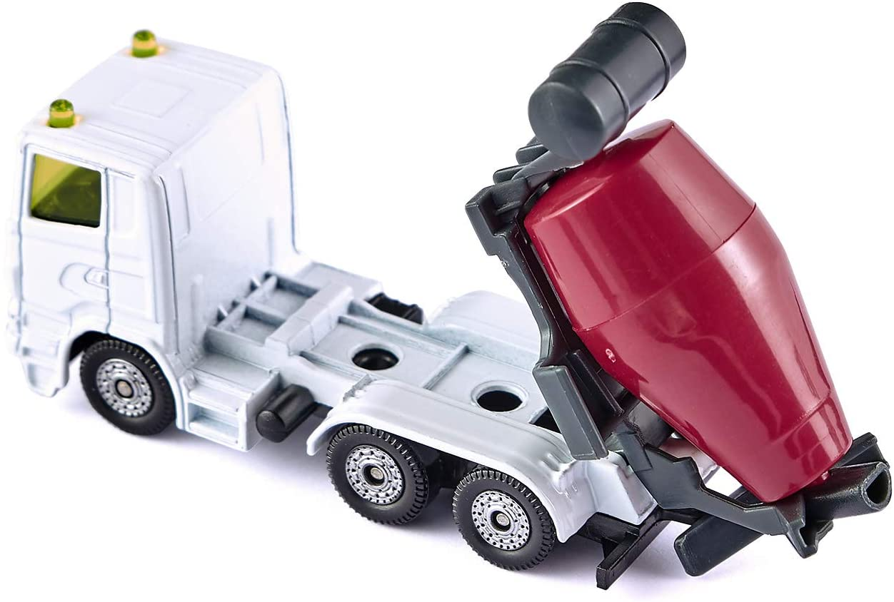 Jucarie - Dumper and Concrete Mixer - White and Red | Siku - 2