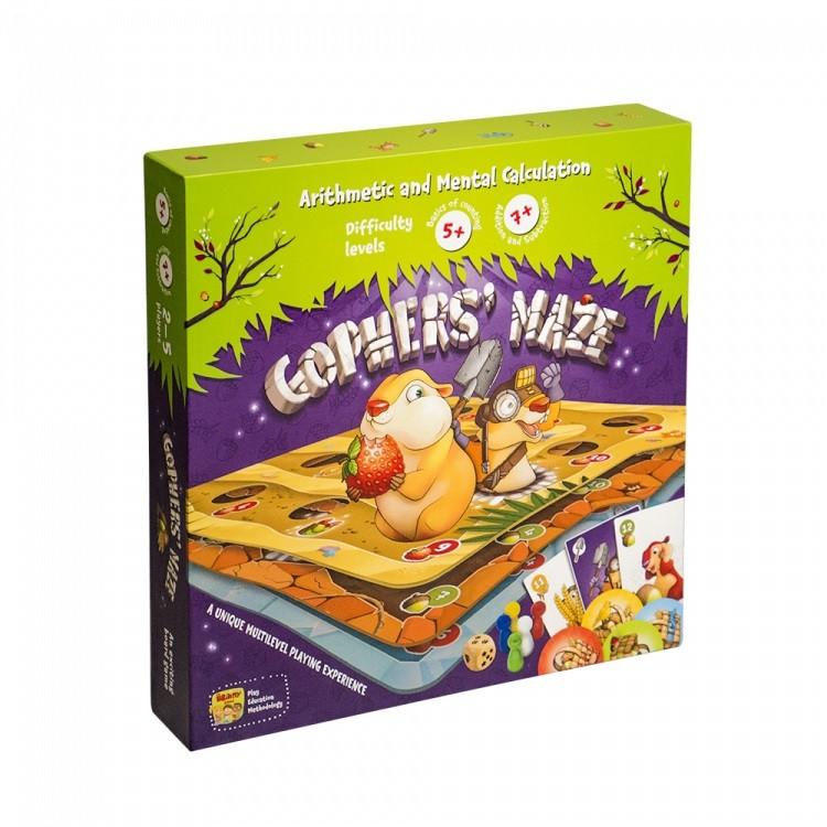 Gophers' Maze   The Brainy Band