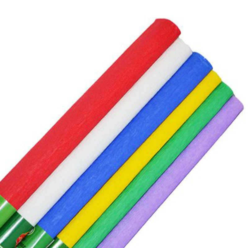 Set 6 culori hartie creponata