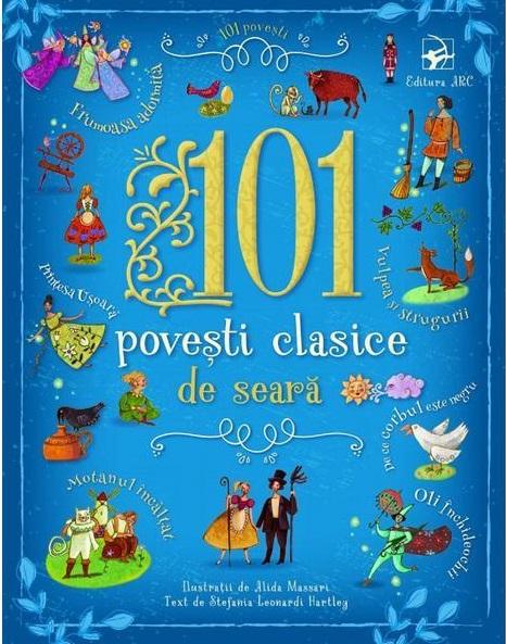 Imagine 101 Povesti Clasice De Seara - Stefania Leonardi Hartley
