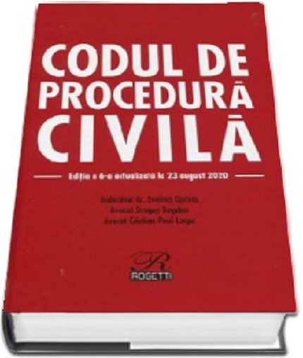 Imagine  Codul De Procedura Civila - Evelina Oprina