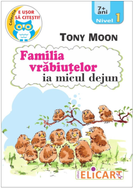 Familia vrabiutelor ia micul dejun | Tony Moon