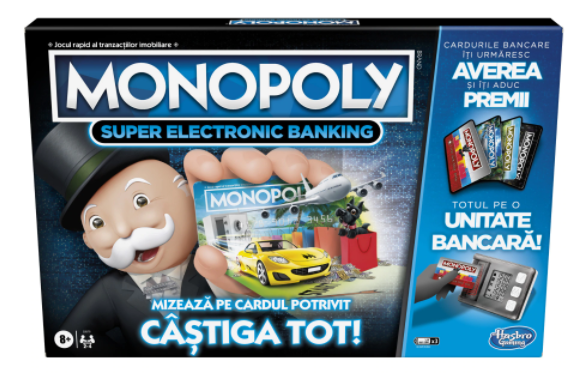 Joc - Monopoly - Super Electronic Banking | Hasbro