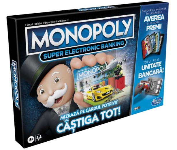 Joc - Monopoly - Super Electronic Banking   Hasbro