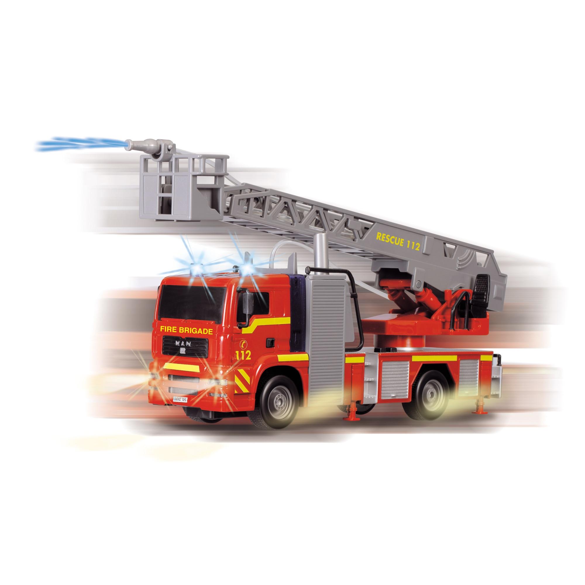 Masina de pompieri - City Fire Engine | Dickie Toys - 1