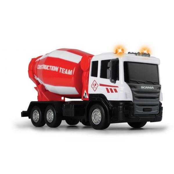Betoniera - Scania, cu sunete si lumini | Dickie Toys