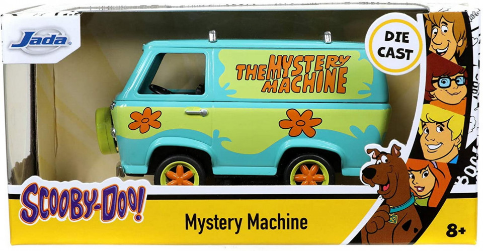 Macheta metalica - Scooby Doo - Mystery Machine | Jada Toys