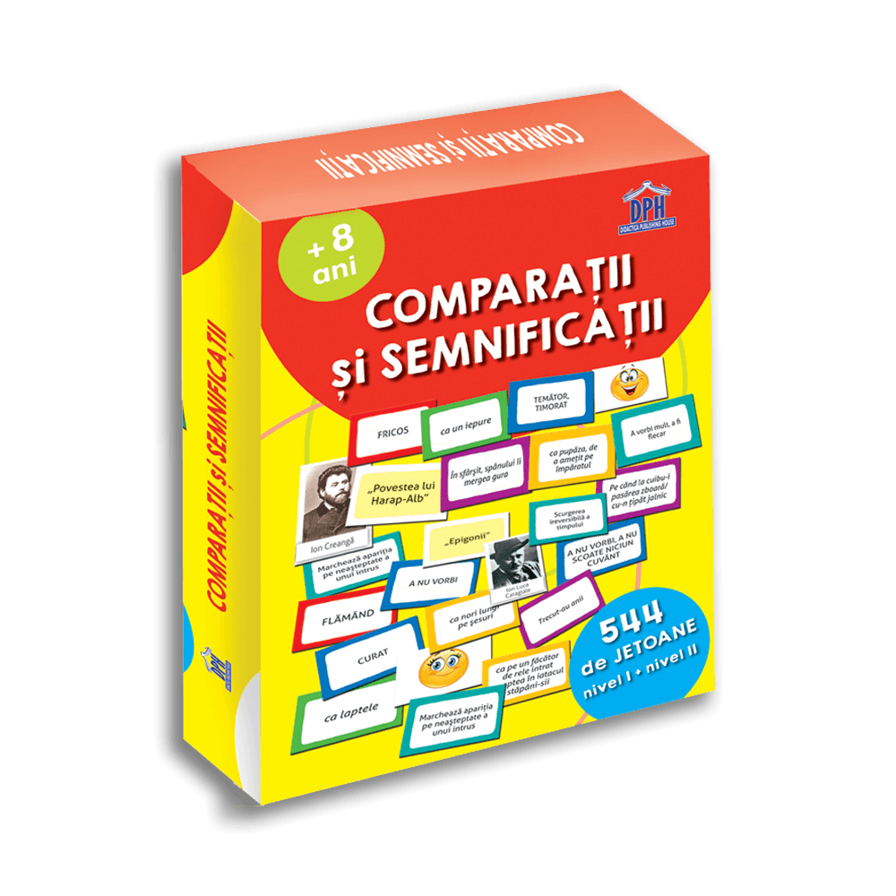 Comparatii si semnificatii - 544 de jetoane | Gabriela Girmacea