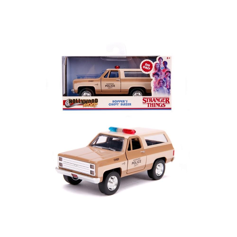 Masinuta - Hopper's 1980 Chevy K5 Blazer, Stranger Things | Jada Toys