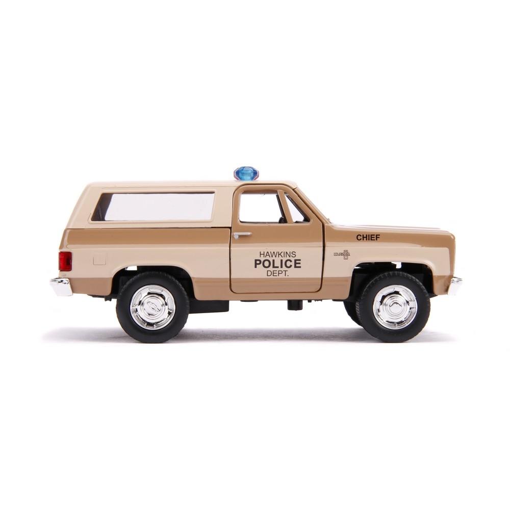 Masinuta - Hopper's 1980 Chevy K5 Blazer, Stranger Things   Jada Toys - 3