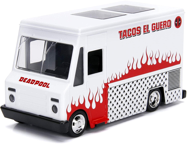 Masinuta - Food Truck Deadpool, Tacos El Fuegos   Jada Toys - 2