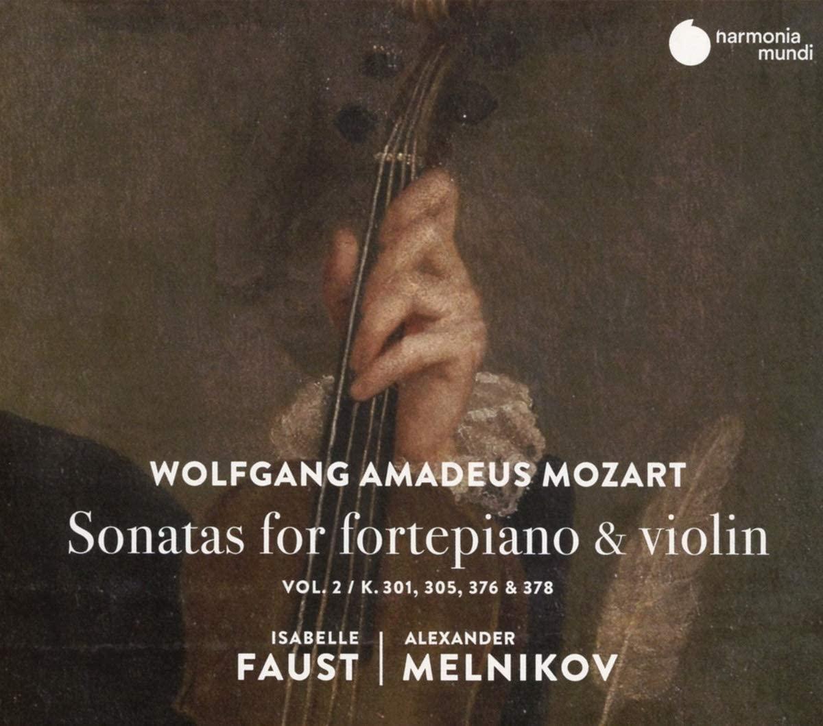 Wolfgang Amadeus Mozart: Sonatas For Fortepiano & Violin
