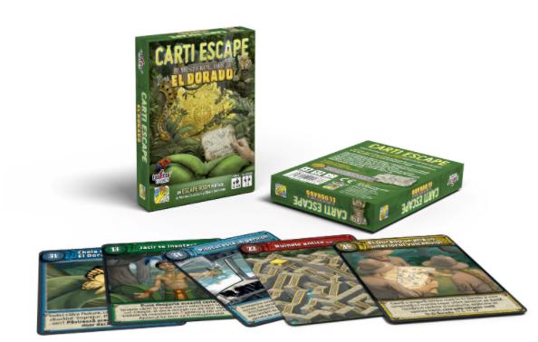 Joc - Escape - Misterul din Eldorado | DV Giochi - 1