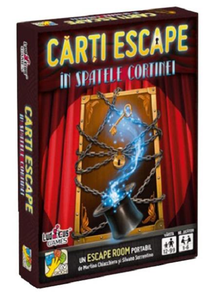 Joc - Escape - In spatele cortinei | DV Giochi