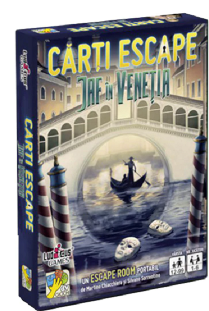 Joc - Escape - Jaf in Venetia | DV Giochi