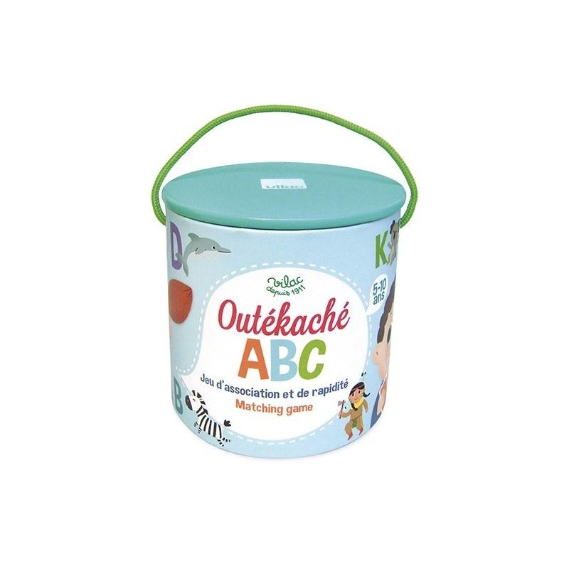 Joc - Unde este ascuns ABC-ul / ABC Outekache | Vilac - 2