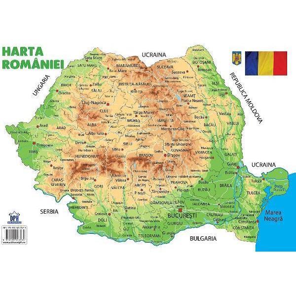 Plansa: Harta Romaniei |