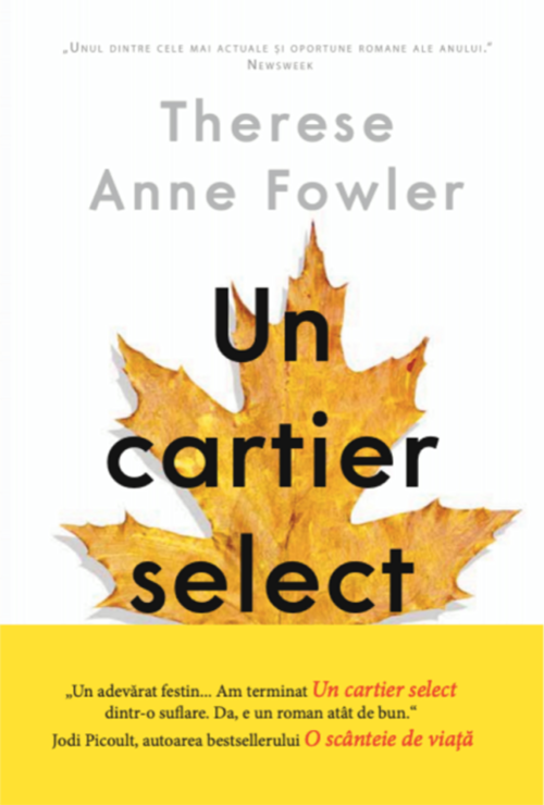 Un cartier select | Therese Anne Fowler