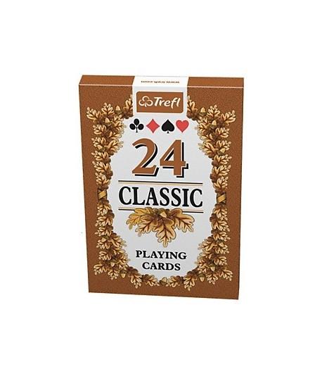 Carti de joc - Frunze 24 Classic | Trefl