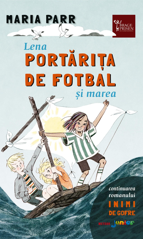 Lena portarita de fotbal