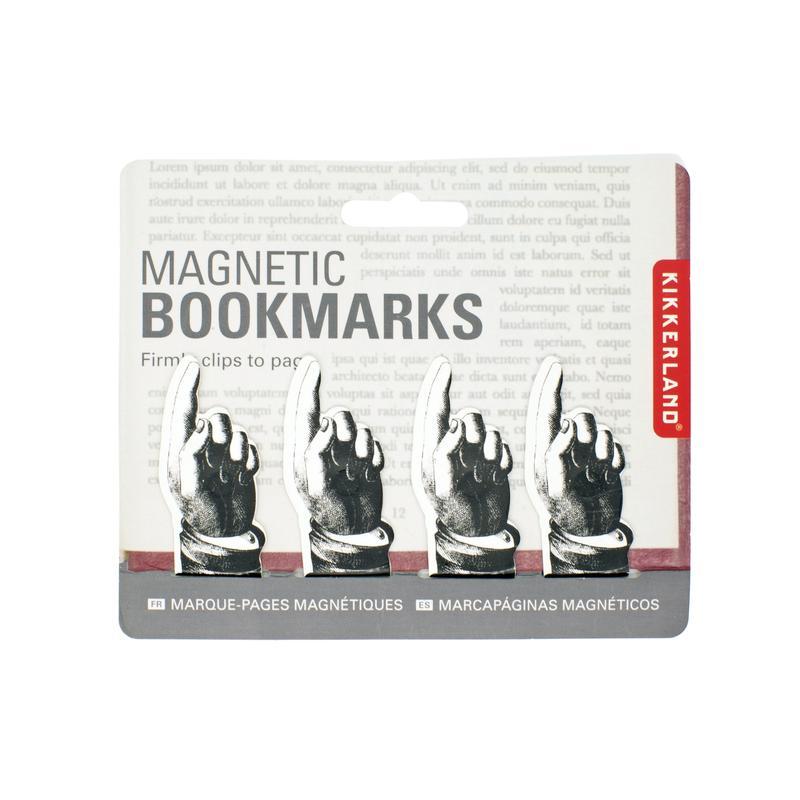Set 4 semne de carte - Magnetic Pointing