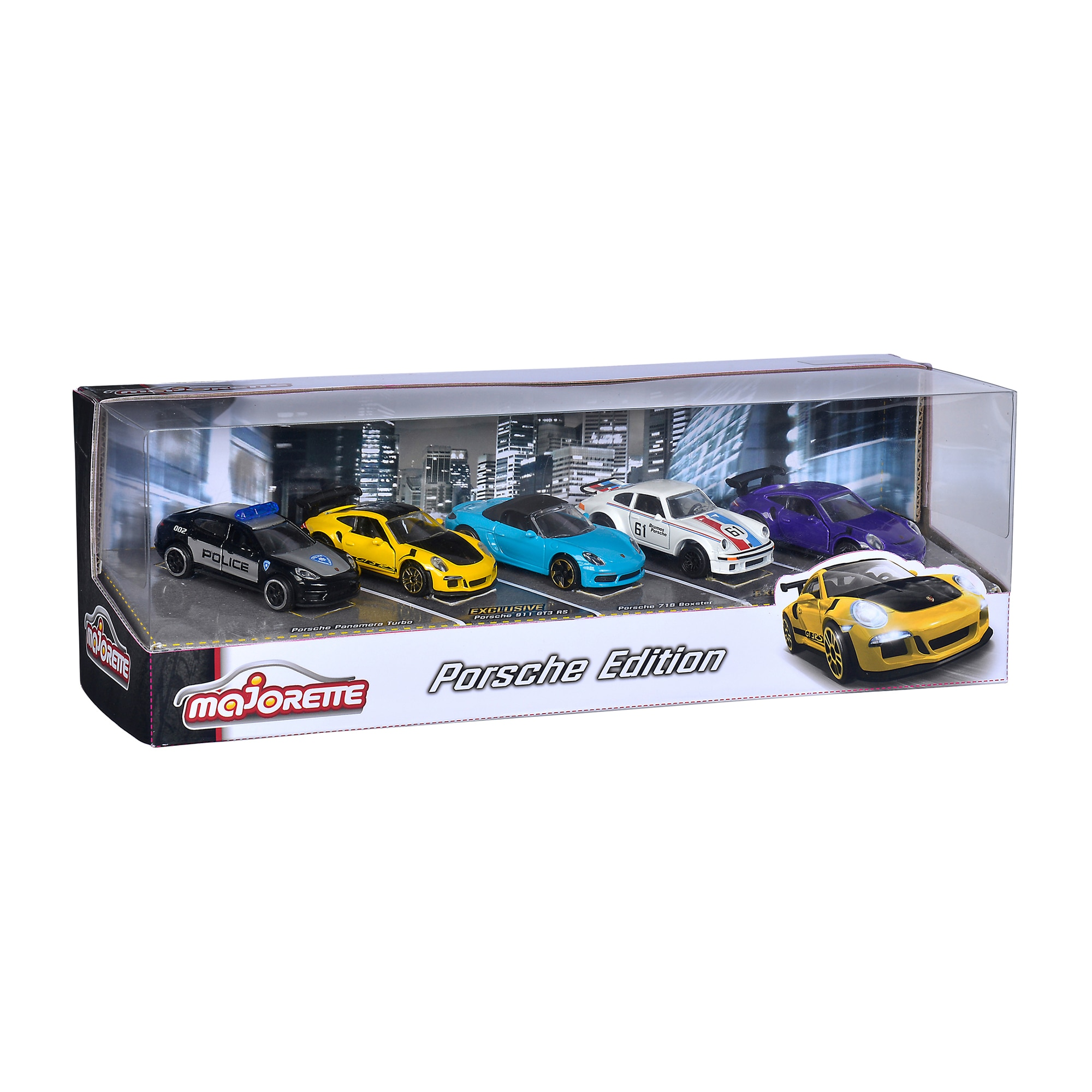 Set 5 masinute - Porsche Edition | Majorette