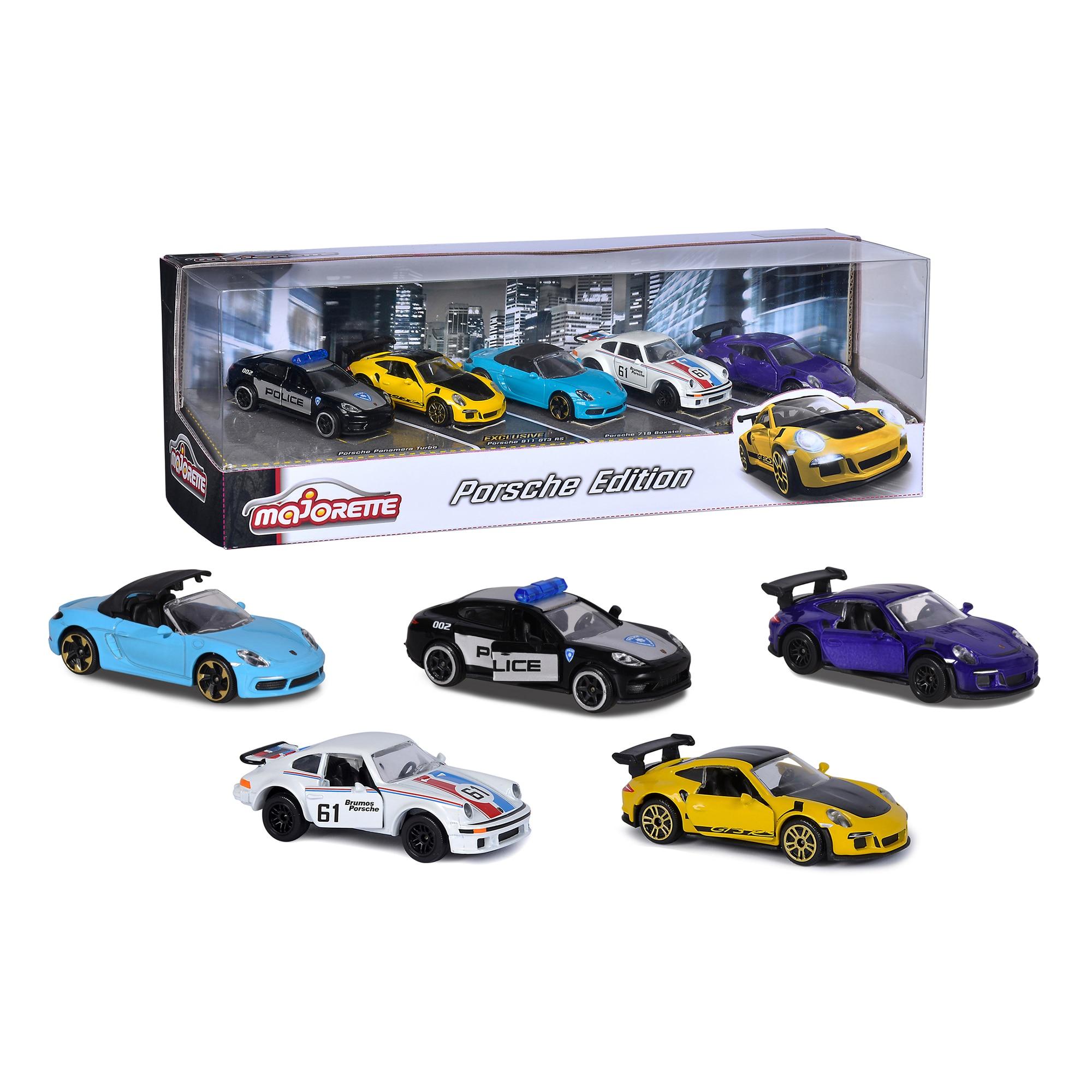 Set 5 masinute - Porsche Edition | Majorette - 3