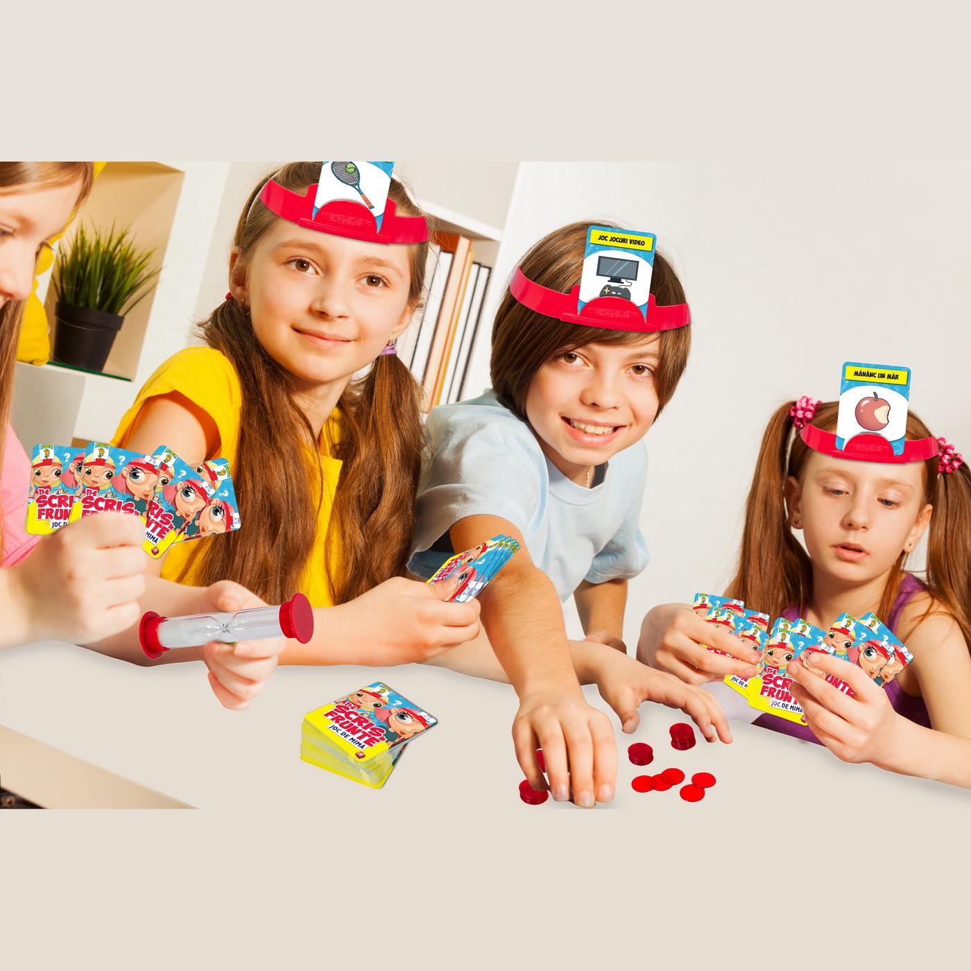 Joc - Ti-e scris in frunte. Joc de mima | AS Games - 4