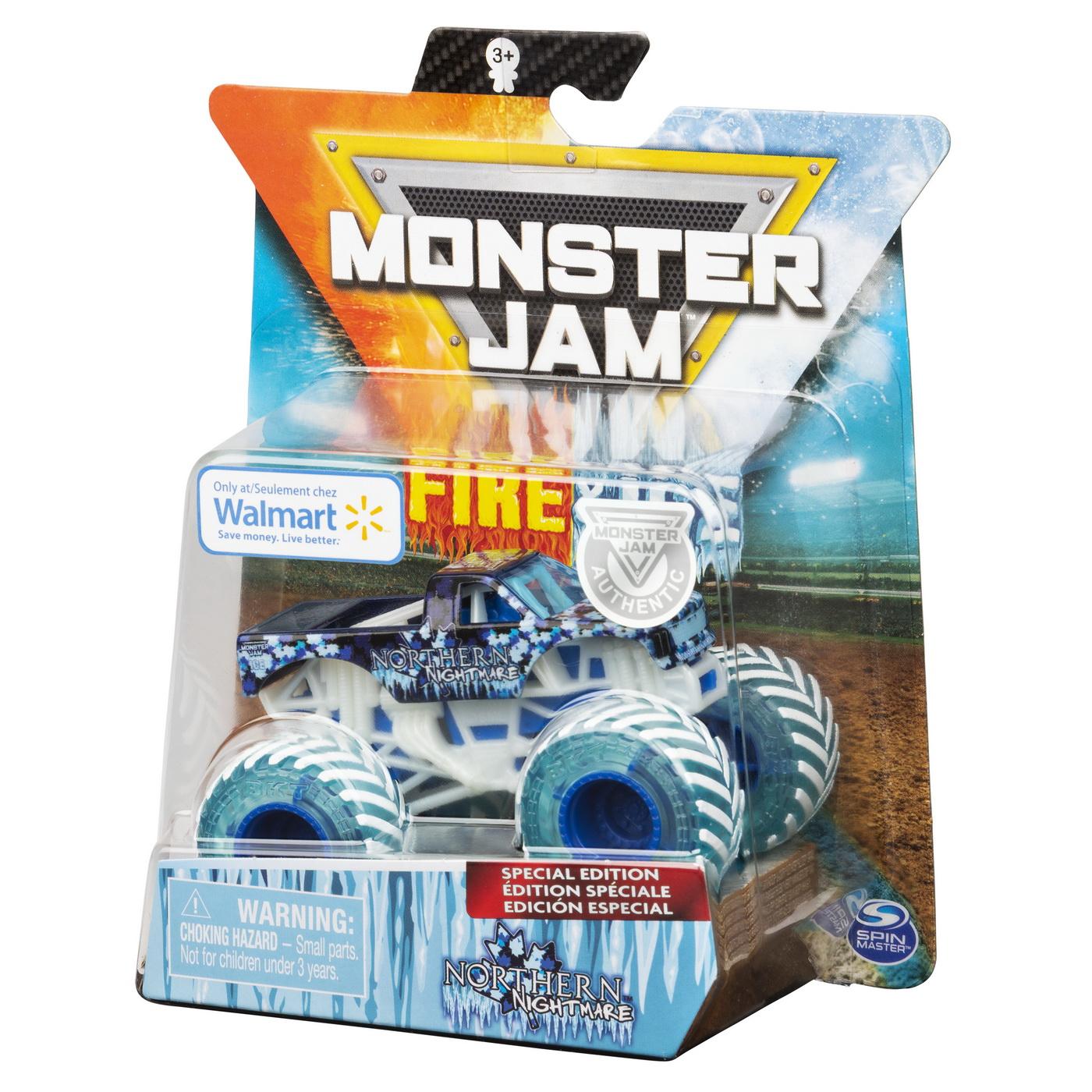 Masinuta Metalica Fire and Ice Northern Nightmare | Monster Jam